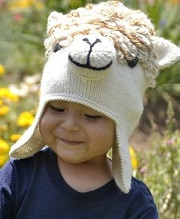 Alpaca Face Kids Hat for sale by Purely Alpaca