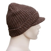 Brimmed Alpaca Knit Hat for sale by Purely Alpaca
