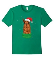 Alpaca Christmas Cartoon T-Shirt