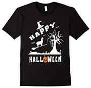 Alpaca Happy Halloween T-Shirt